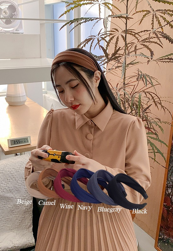 리지 골지 hairband (6color)
